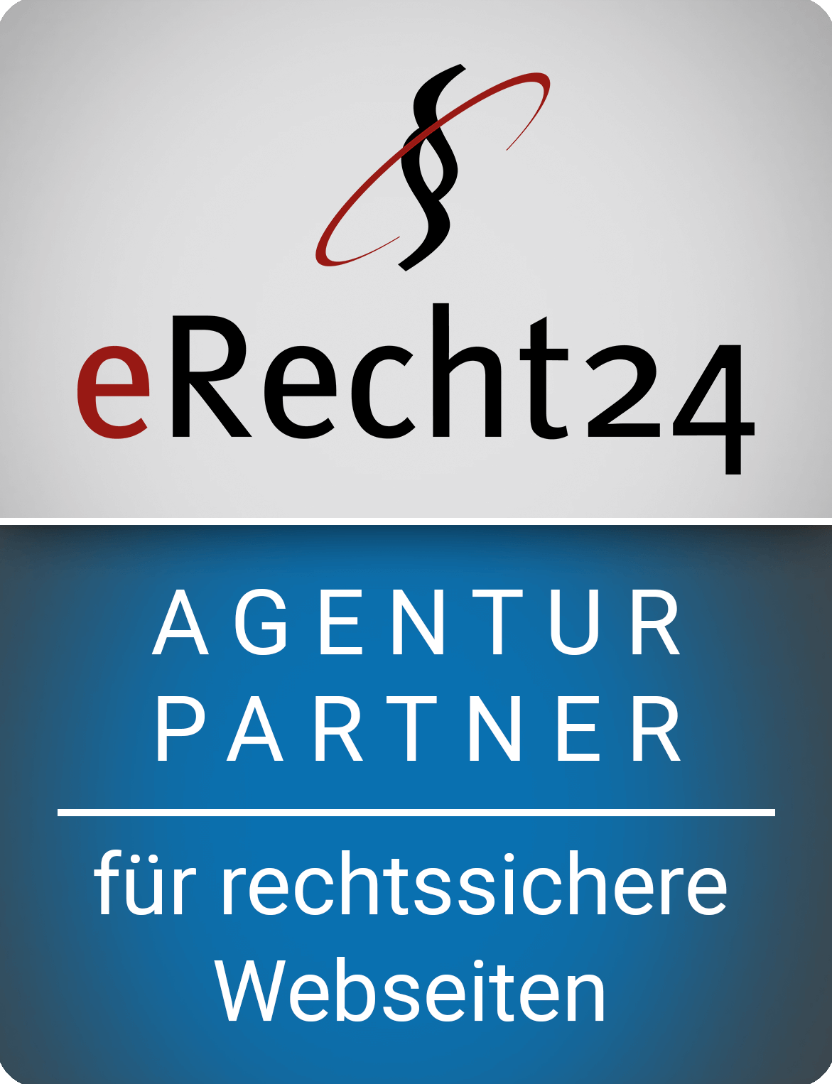 eRecht24 Agentur Partner für rechtssichere Webseiten