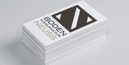 Logo Design Bodenmanufaktur Neuss GmbH