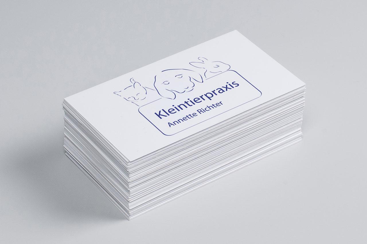 Logo Design Kleintierpraxis Annette Richter