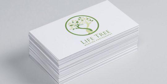 Logo Design Life Tree Wedding Photography