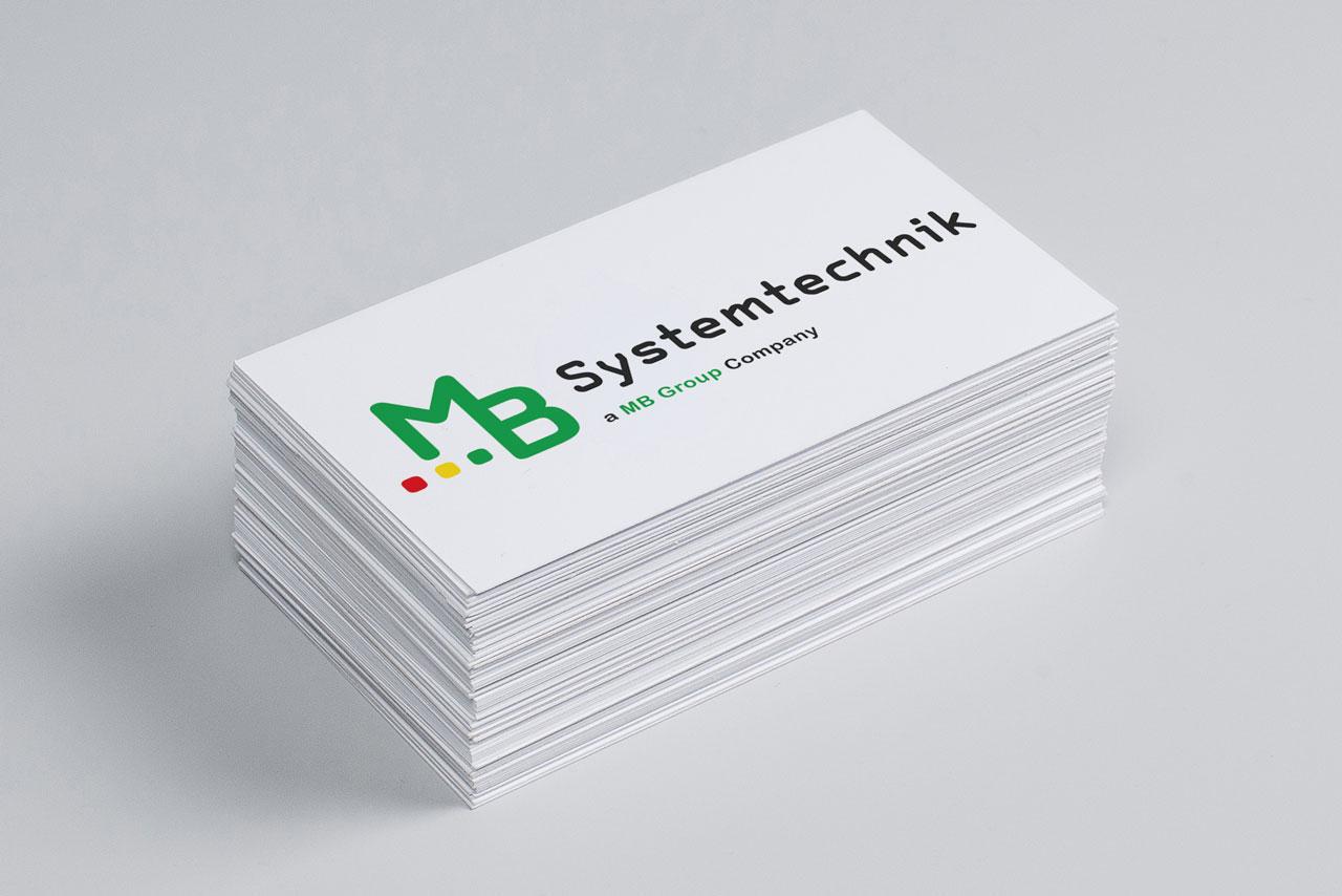 Logo Design MB Systemtechnik