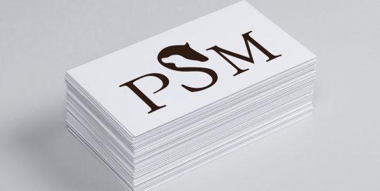 Logo Design PSM Pferdeservice Sandra Michaelis