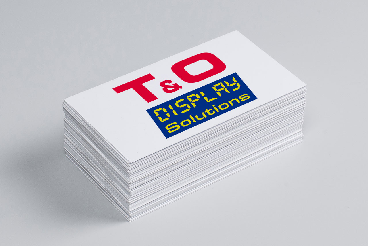 Logo Design T&O Display Solutions GmbH