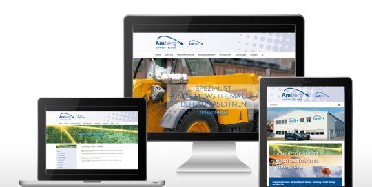 Website Amberg Umwelt-Technik GmbH