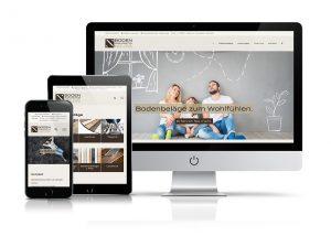 Website Bodenmanufaktur Neuss GmbH