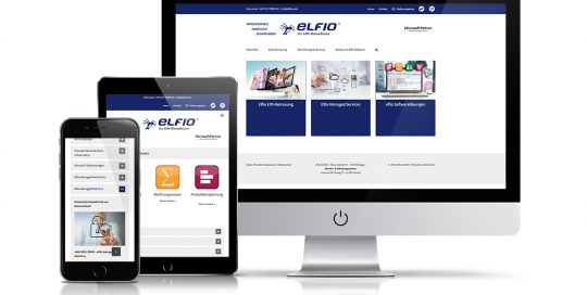 Website Elfio GmbH
