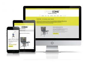 Website Foodcons GmbH & Co. KG