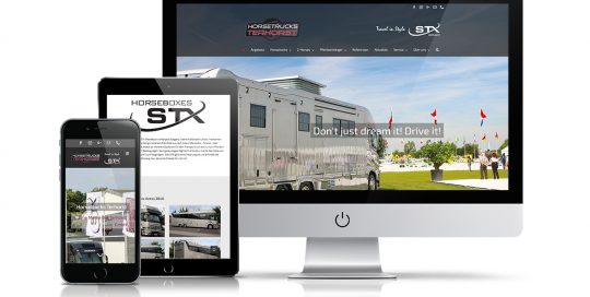 Website Horsetrucks Terhorst