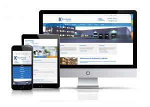 Website Showcase Kreykamp GmbH