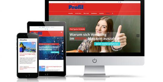 Website Profil Magazin