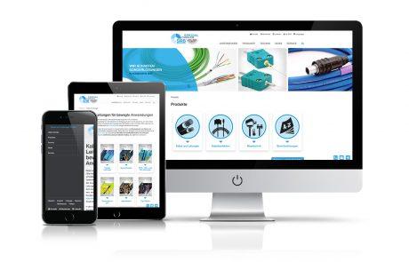Website SAB Kabel Bröckskes GmbH & Co. KG