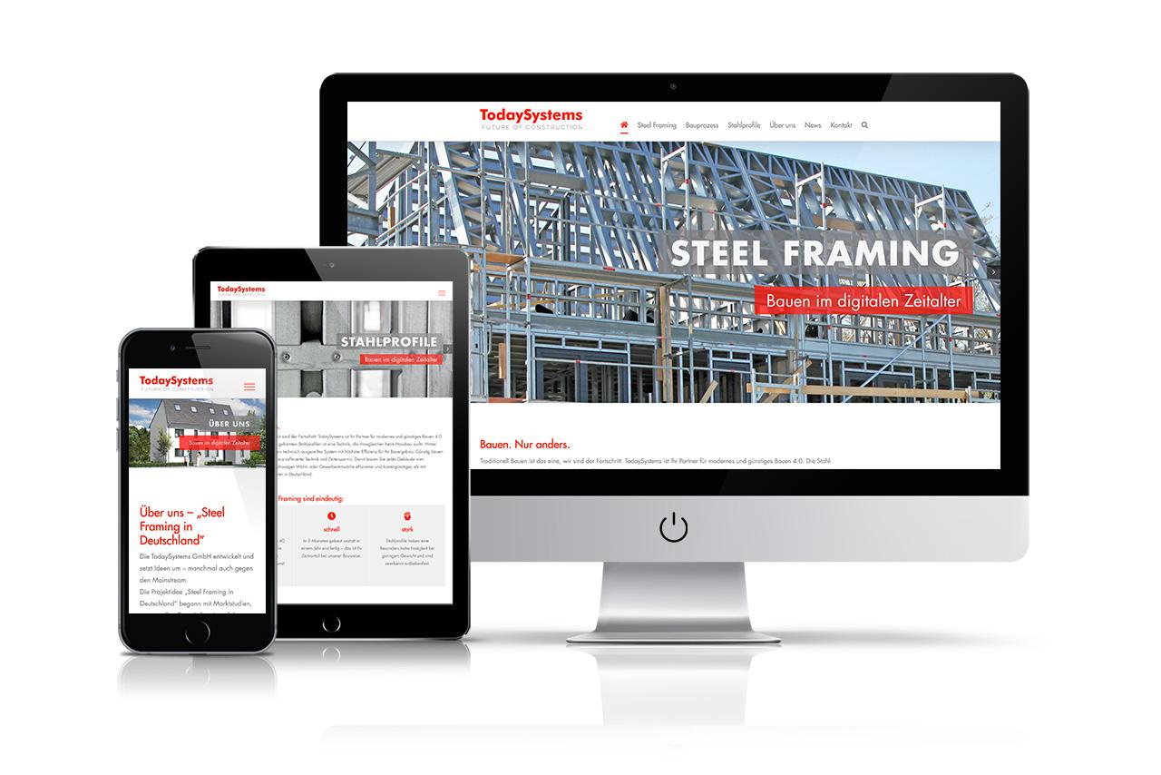 Website TodaySystems GmbH