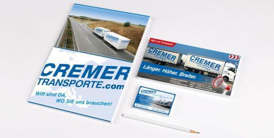 Druck- und Werbeprodukte Cremer Transporte GmbH & Co. KG