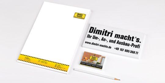 Druck- und Werbeprodukte Dimitri macht's
