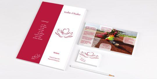 Druck- und Werbeprodukte Hochzeitseinladung